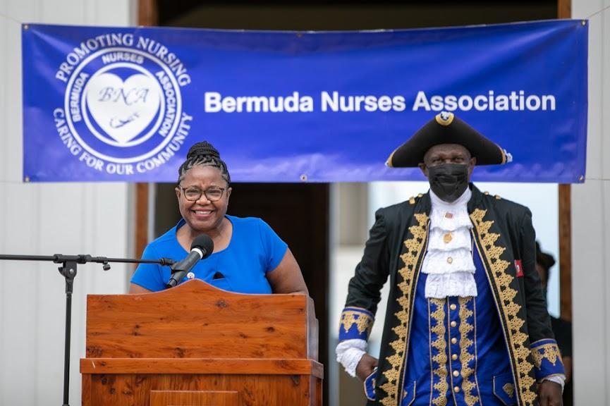 International Nurses Day Proclamation Reading Bermuda May 2021 22