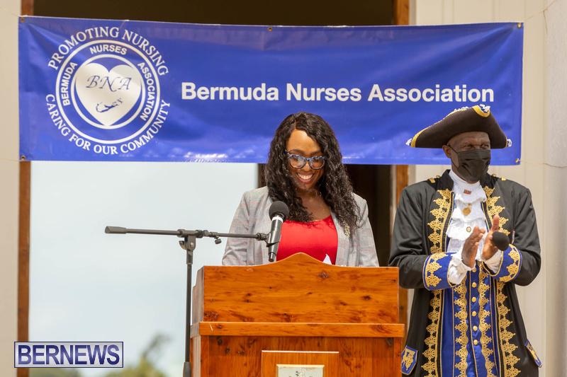 International Nurses Day Proclamation Reading Bermuda May 2021 5
