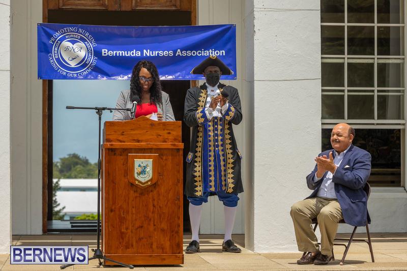 International Nurses Day Proclamation Reading Bermuda May 2021 6