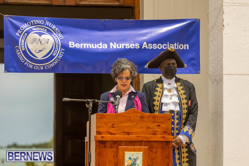 International Nurses Day Proclamation Reading Bermuda May 2021 8