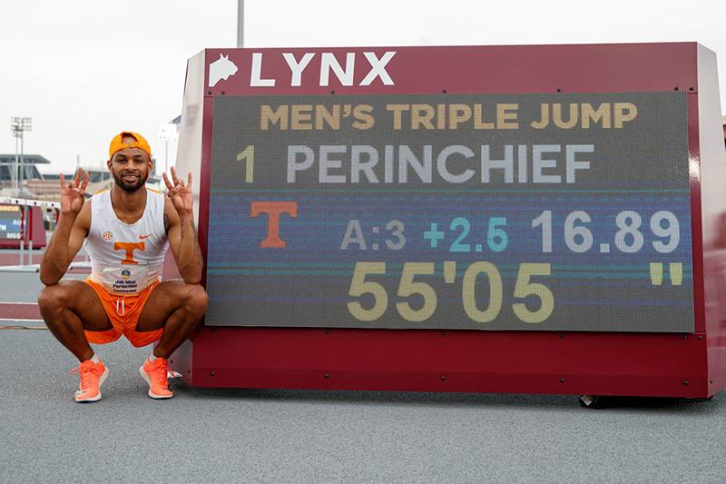 Jah-Nhai Perinchief Photo By Caleb JonesTennessee Athletics Bermuda May 2021 2