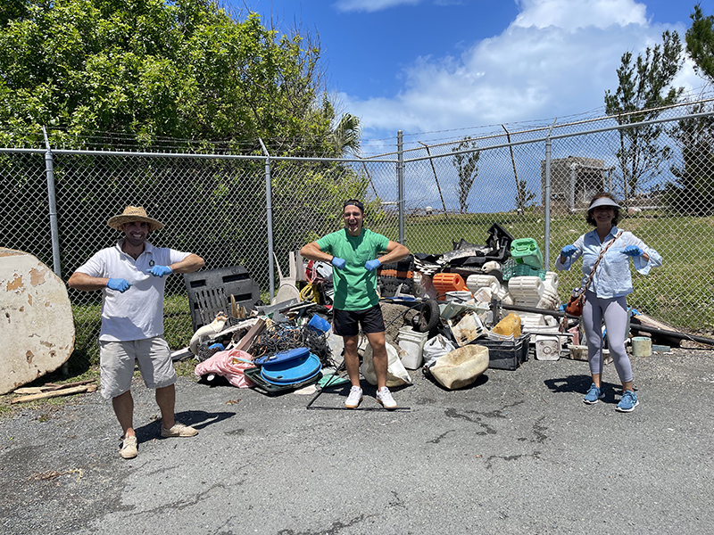 KBB Holds Great Big Cleanup Bermuda May 2021