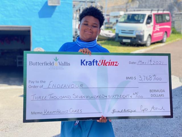 Kraft Cares Donates To Endeavour Bermuda May 2021 1