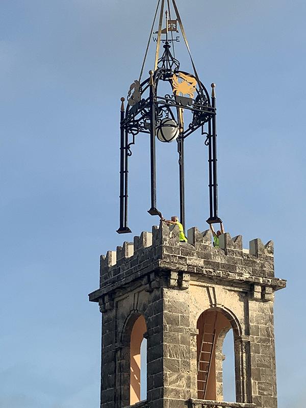 Manor House Tower Bermuda May 7 2021 (2)