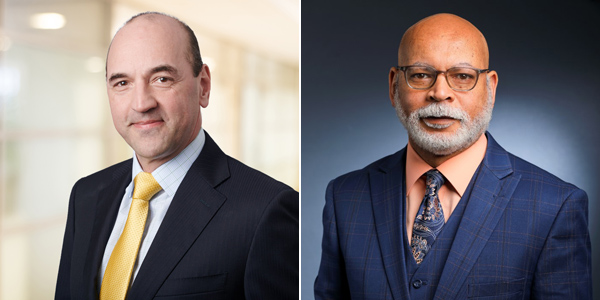 Marc Grandisson and Craig Swan Bermuda May 2021