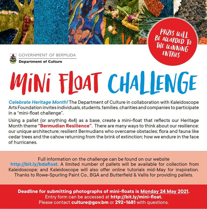 Mini-Float Challenge Bermuda May 2021