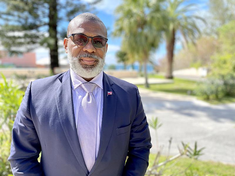 Minister Walter Roban Bermuda May 2021