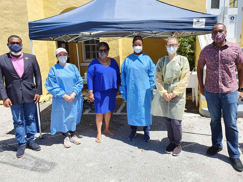 Mobile Vaccination Site Bermuda May 2021 1