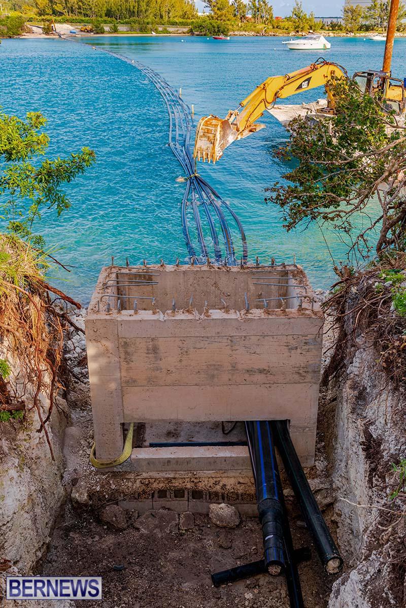 New Conduits At Old Severn Bridge Bermuda May 2021 4