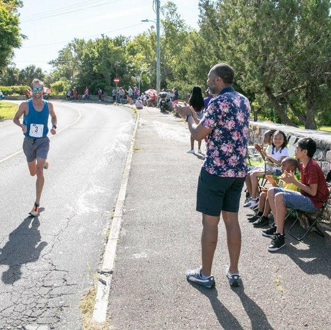 Premier Burt At Bermuda Day Half Marathon May 2021 2