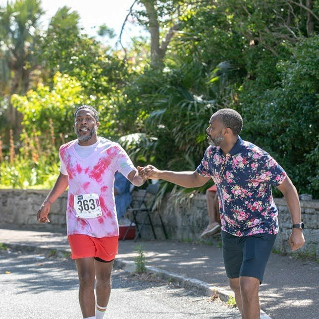 Premier Burt At Bermuda Day Half Marathon May 2021 3