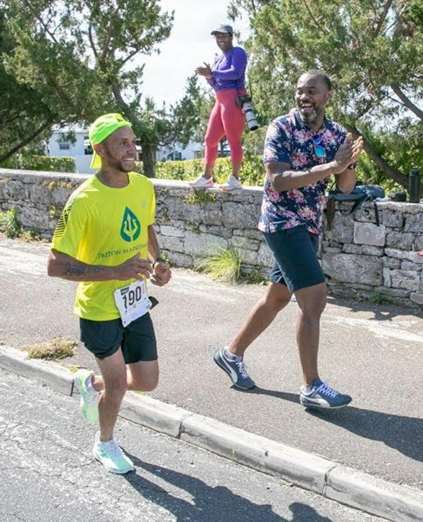 Premier Burt At Bermuda Day Half Marathon May 2021 4