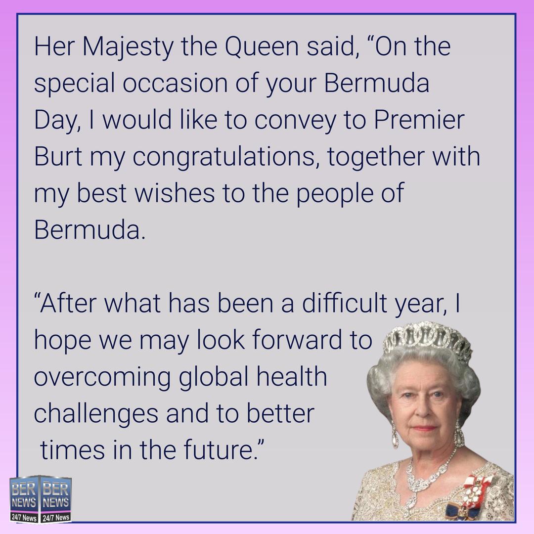 Queen Elizabeth's Bermuda Day Message May 27 2021