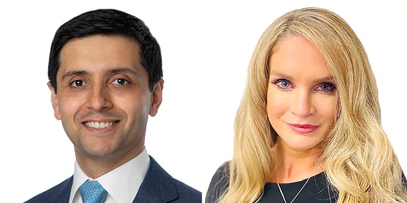 Stavan Desai & Katherine Spenner Bermuda May 2021