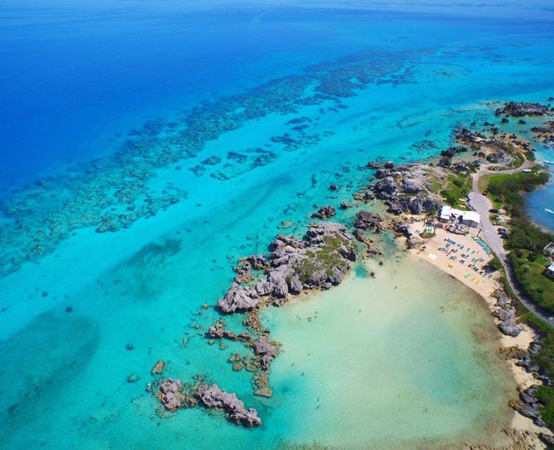 Tobacco Bay Beach Bermuda May 2021