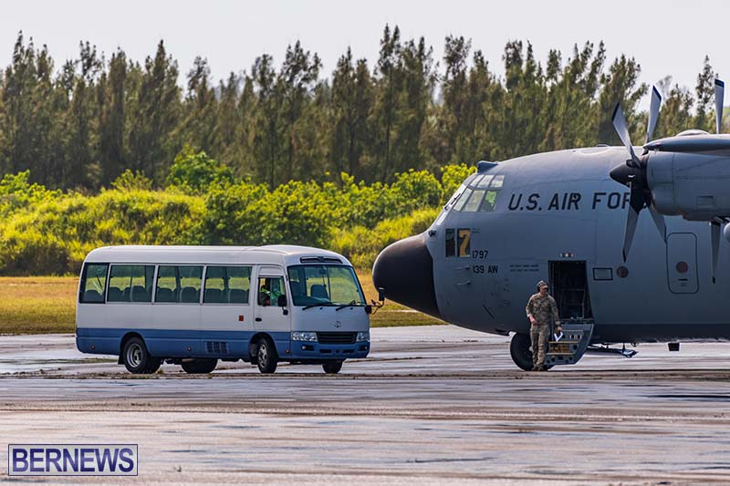 USAF C-130H Hercules Bermuda May 2021 1