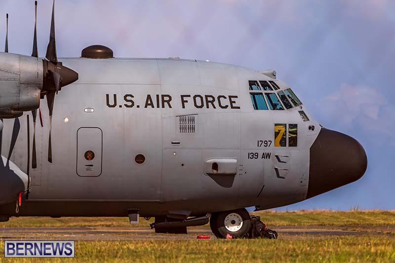 USAF C-130H Hercules Bermuda May 2021 3