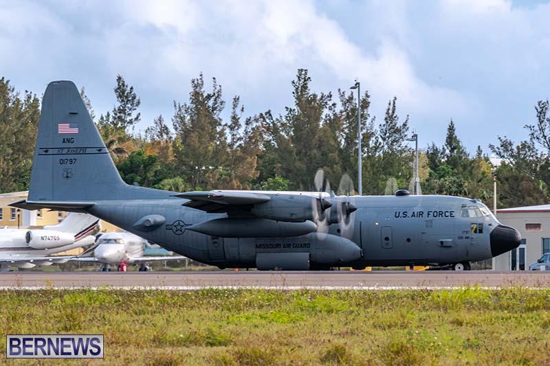 USAF C-130H Hercules Bermuda May 2021 6