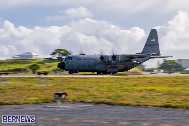 USAF C-130H Hercules Bermuda May 2021 8