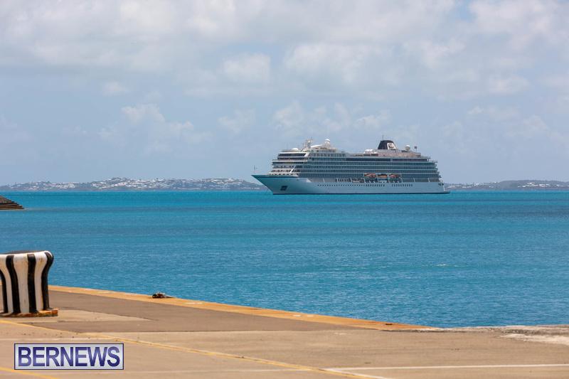 Viking Orion cruise ship in Bermuda May 23 2021 (2)
