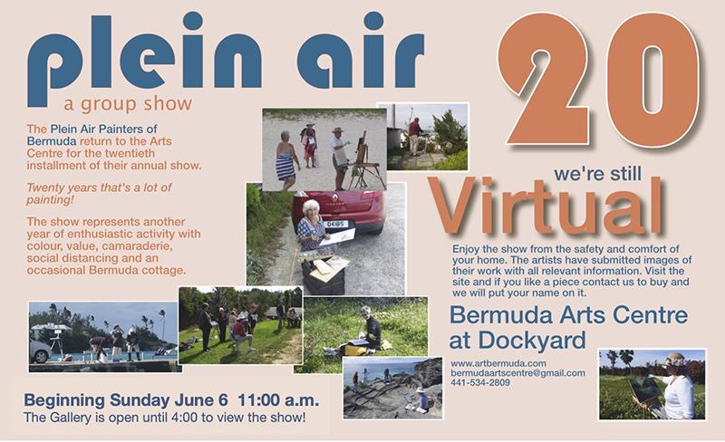 20th Annual Bermuda Plein Air Exhibit June 2021
