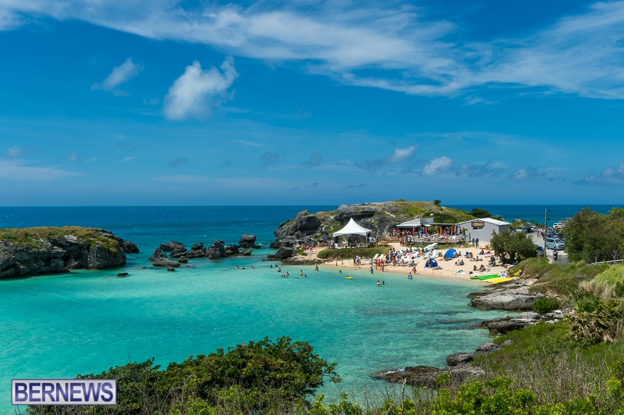 218 - Tobacco Bay, likely the best beach in the east end of Bermuda