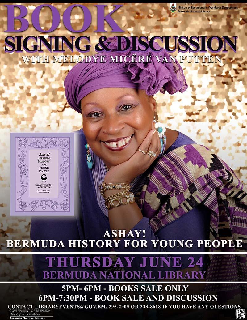 Ashay Bermuda History for Young  People Bermuda June 21 2021