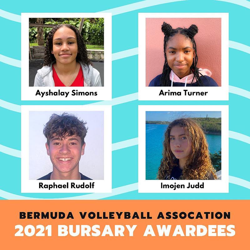 BVA Bursary Awardees Bermuda June 2021