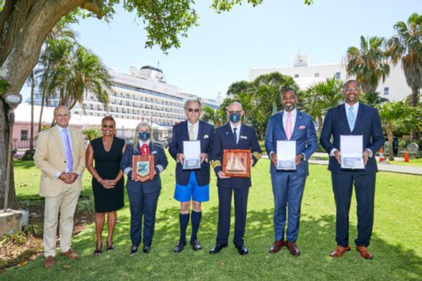 Bermuda Welcomes Viking Orion June 2021 (2)