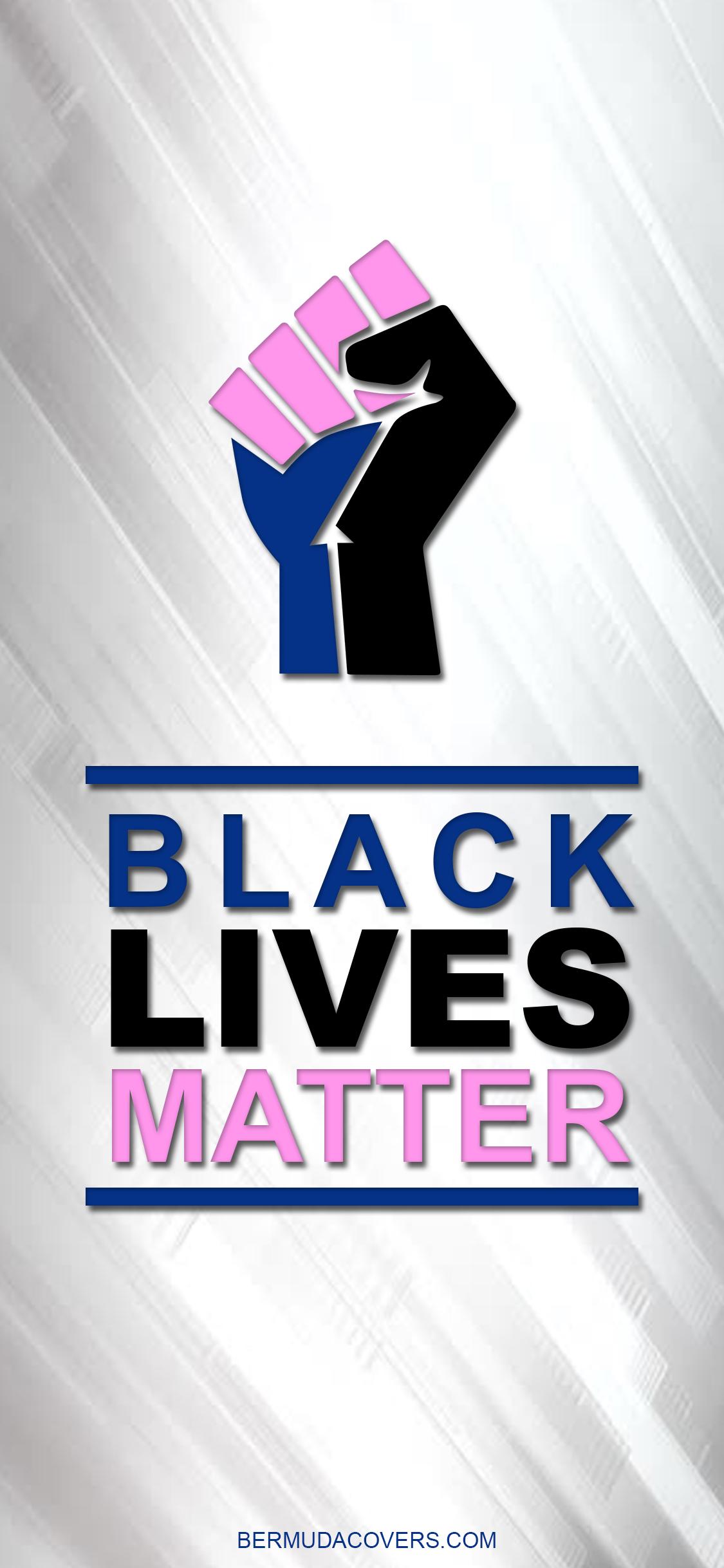 Black Lives Matter Bernews Mobile phone wallpaper lock screen design image photo 7PNZqvq4