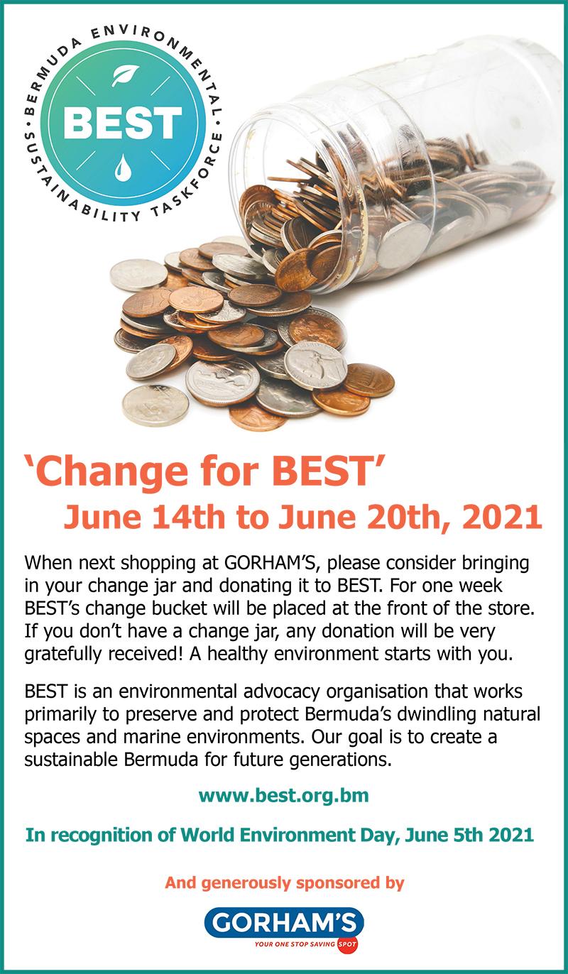 Change For BEST Campaign Bermuda June 2021