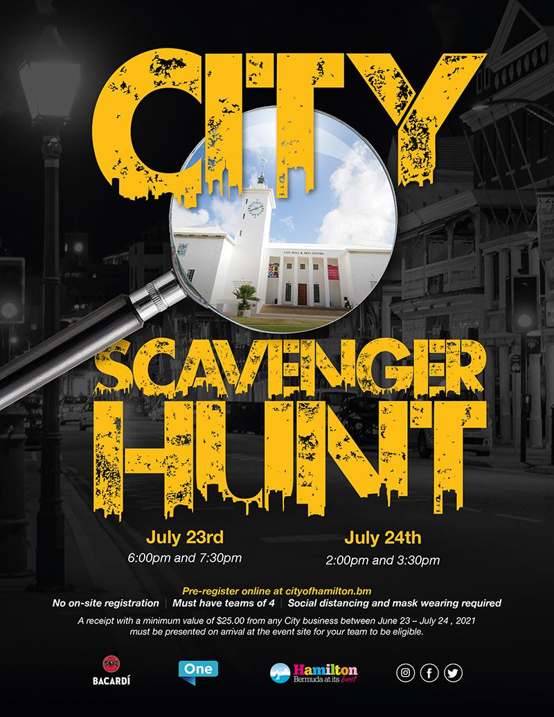 City Of Hamilton Scavenger Hunt Bermuda June 2021