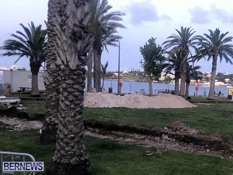 City Of Hamilton Upgrading Albuoys Point Bermuda June 2021 3