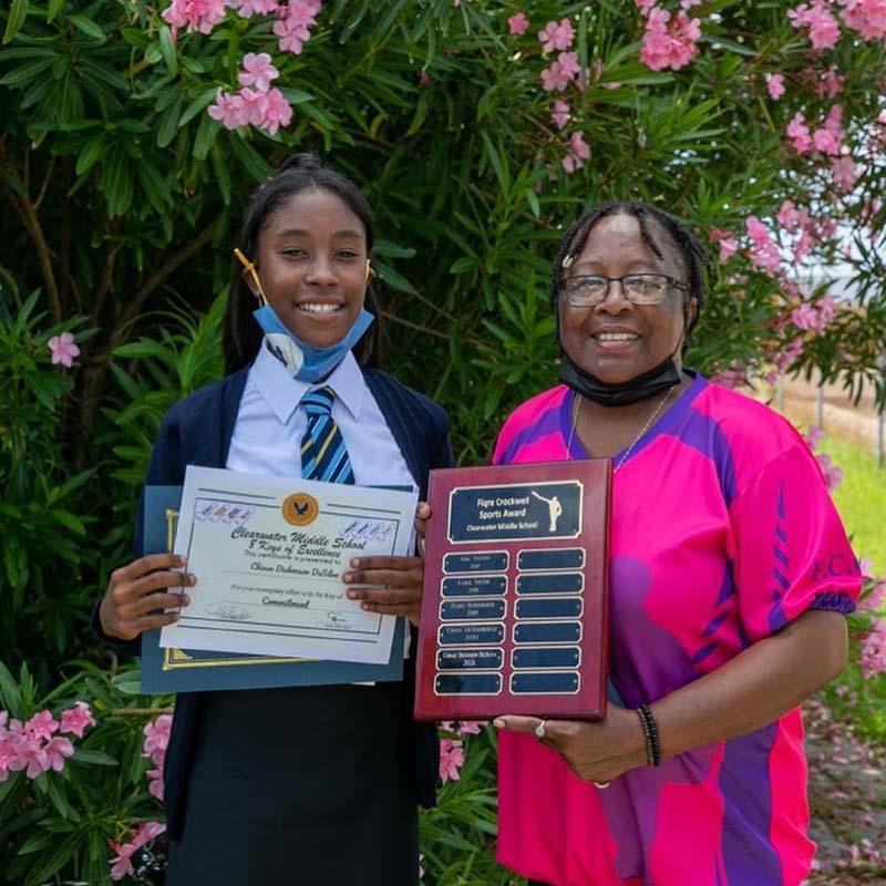 Clearwater Middle School Graduates Bermuda June 2021 3