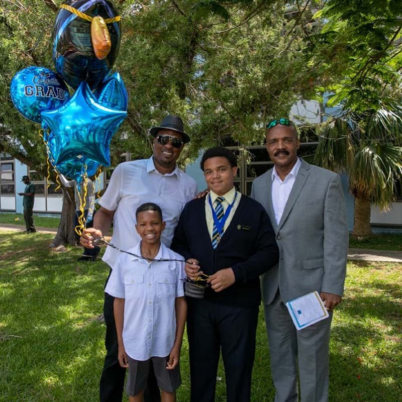Clearwater Middle School Graduates Bermuda June 2021 4