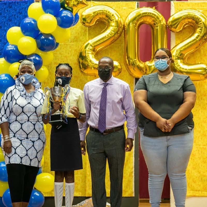 Clearwater Middle School Graduates Bermuda June 2021 5