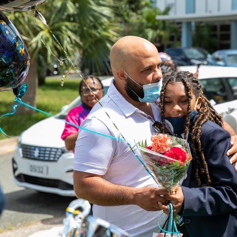 Clearwater Middle School Graduates Bermuda June 2021 8