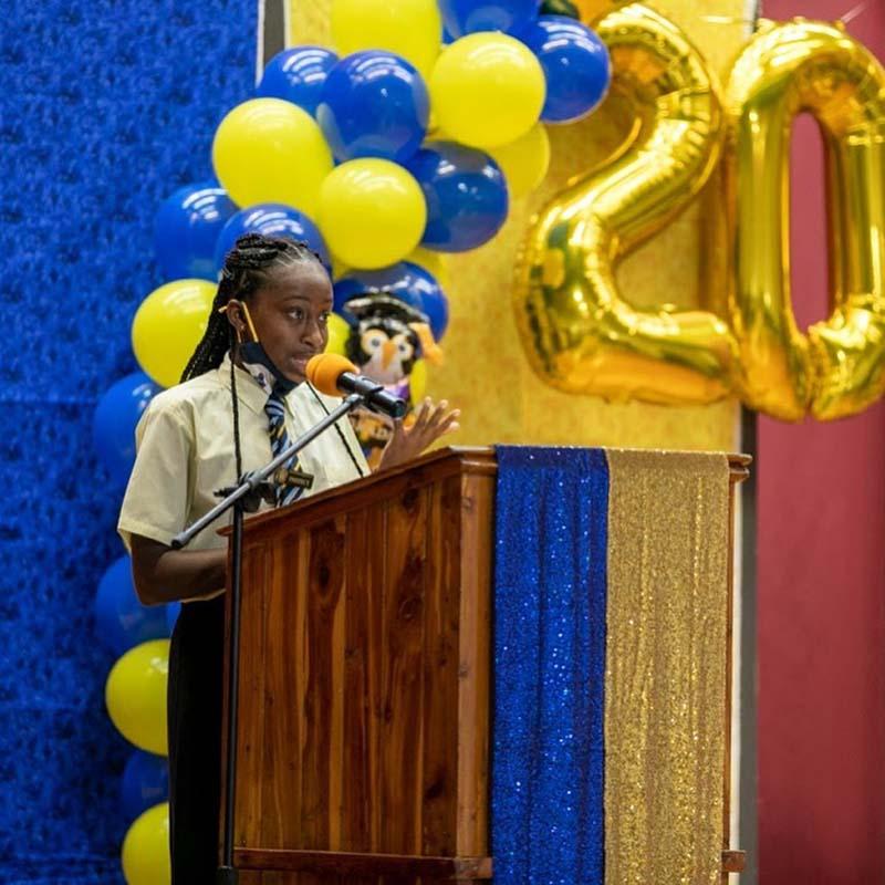 Clearwater Middle School Graduates Bermuda June 2021 9