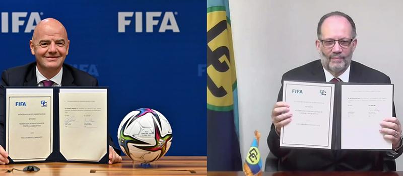FIFA & CARICOM Agreement Bermuda June 2021