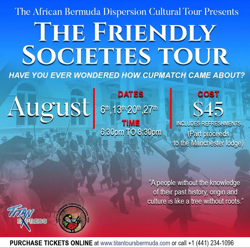 Friendly Society tour Bermuda June 11 2021