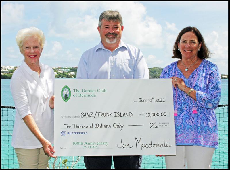Garden Club Of Bermuda Donates To BZS June 2021