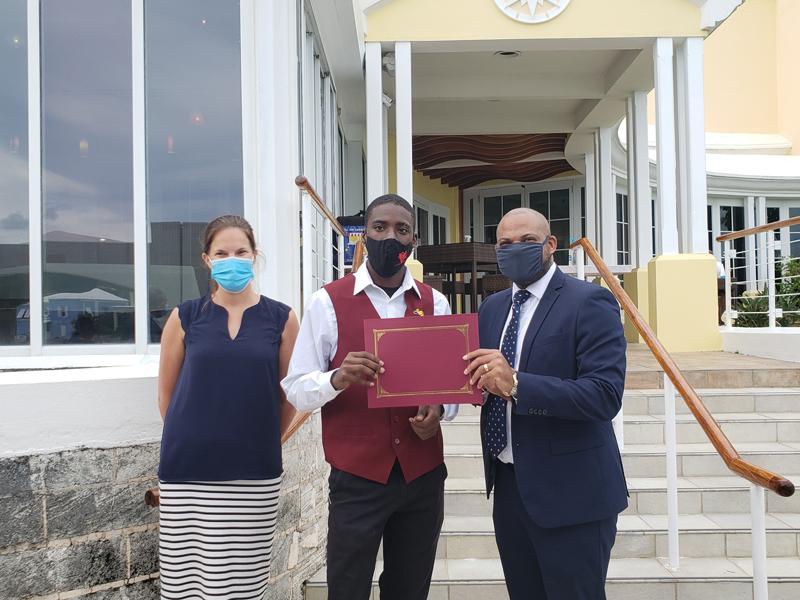 Giniko Liburd Bermuda June 2021