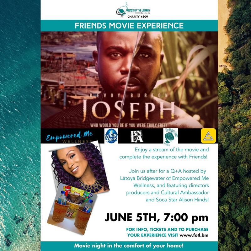 Joseph Film Bermuda May 2021