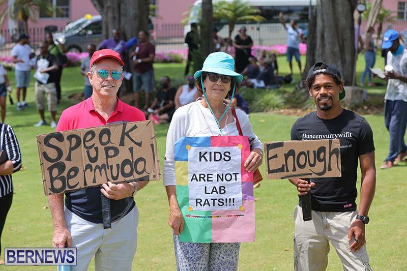 June 2021 Bermuda Protest at Cabinet  (1)