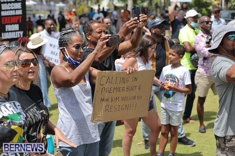 June 2021 Bermuda Protest at Cabinet  (10)