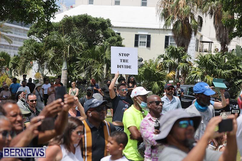 June 2021 Bermuda Protest at Cabinet  (11)