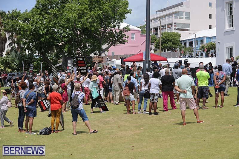 June 2021 Bermuda Protest at Cabinet  (12)