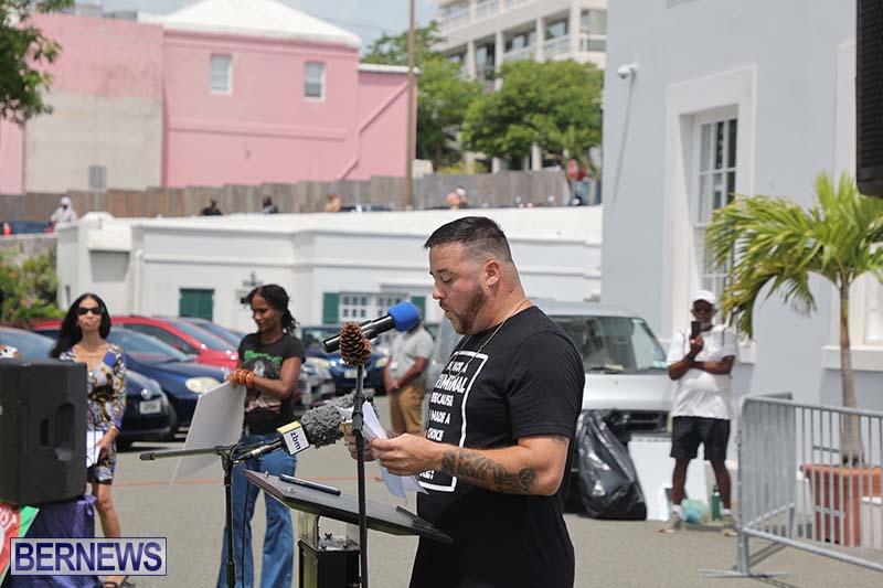June 2021 Bermuda Protest at Cabinet  (13)