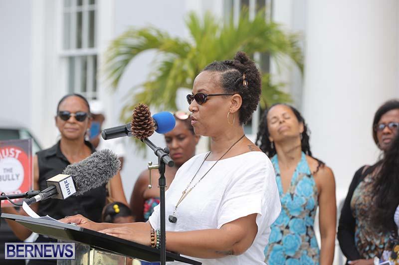 June 2021 Bermuda Protest at Cabinet  (18)