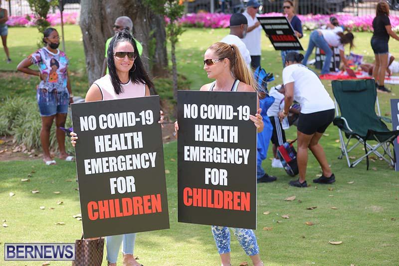 June 2021 Bermuda Protest at Cabinet  (4)